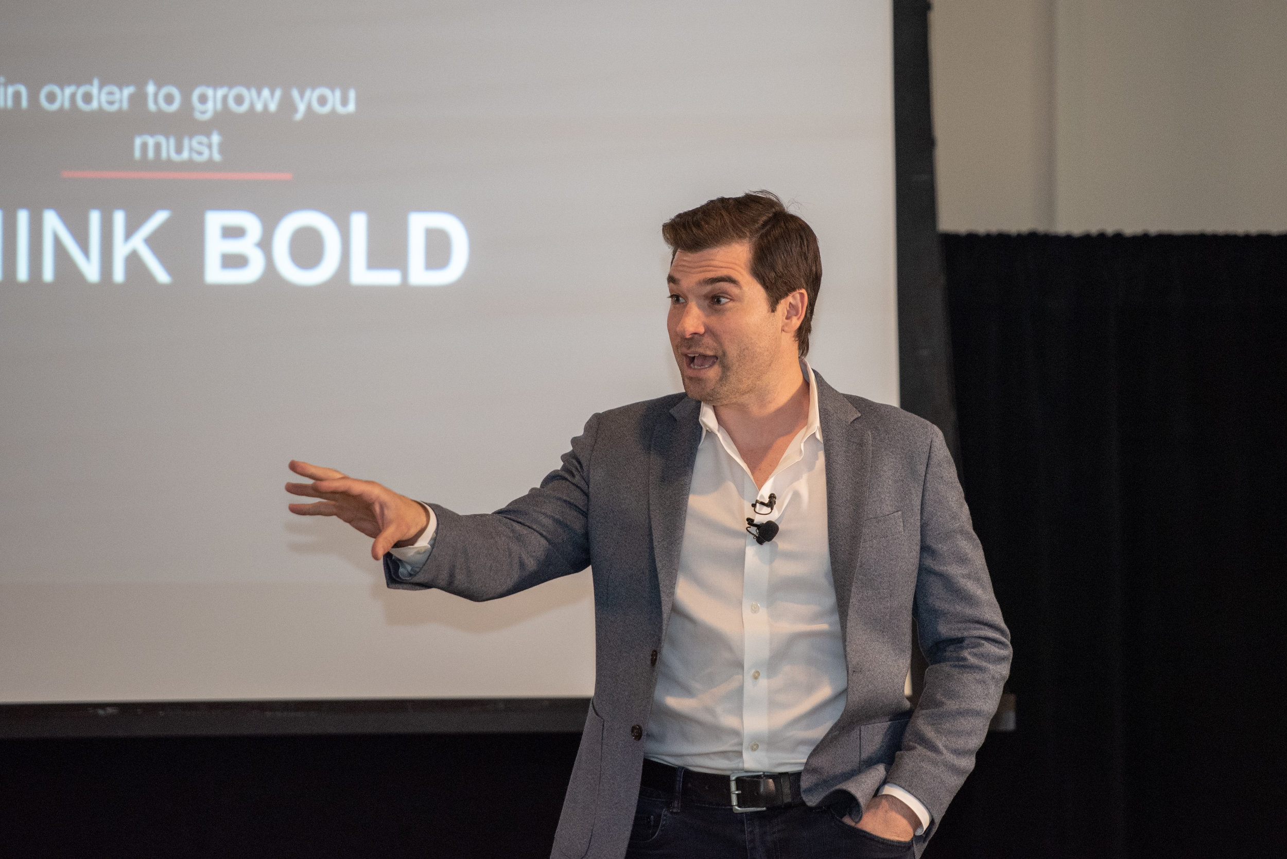 Brian Cristiano - Be BOLD, even in your darkest hour