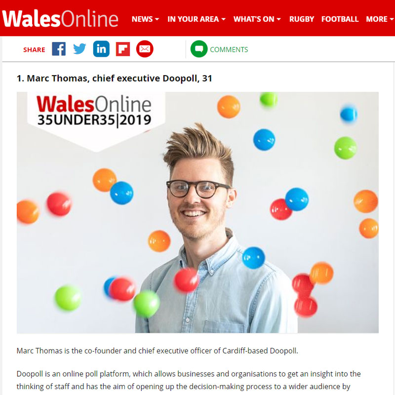 Wales Online 35 under 35 story AGP clients.jpg