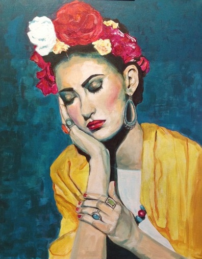 Feeling a little like Frida