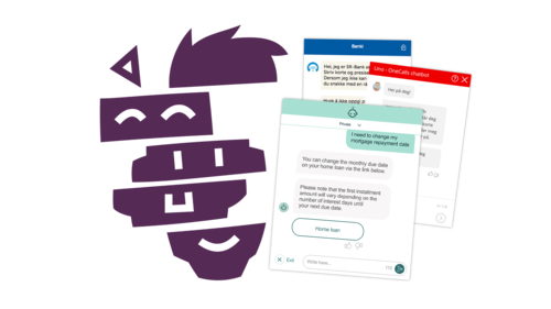 Our API framework allows us to create intelligent chatbots for any service