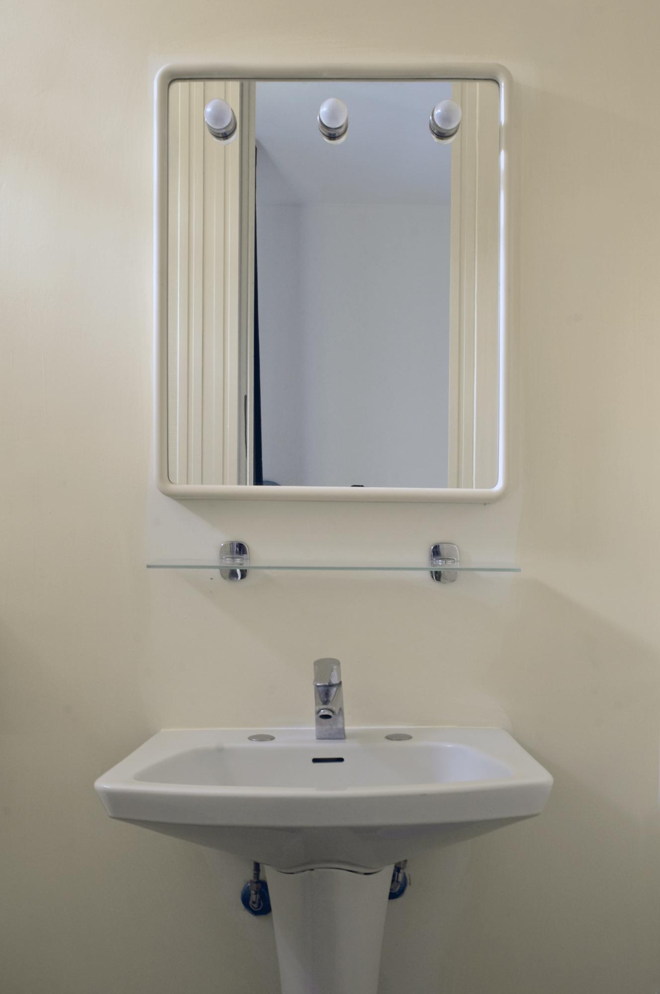 La toilette del bungalow