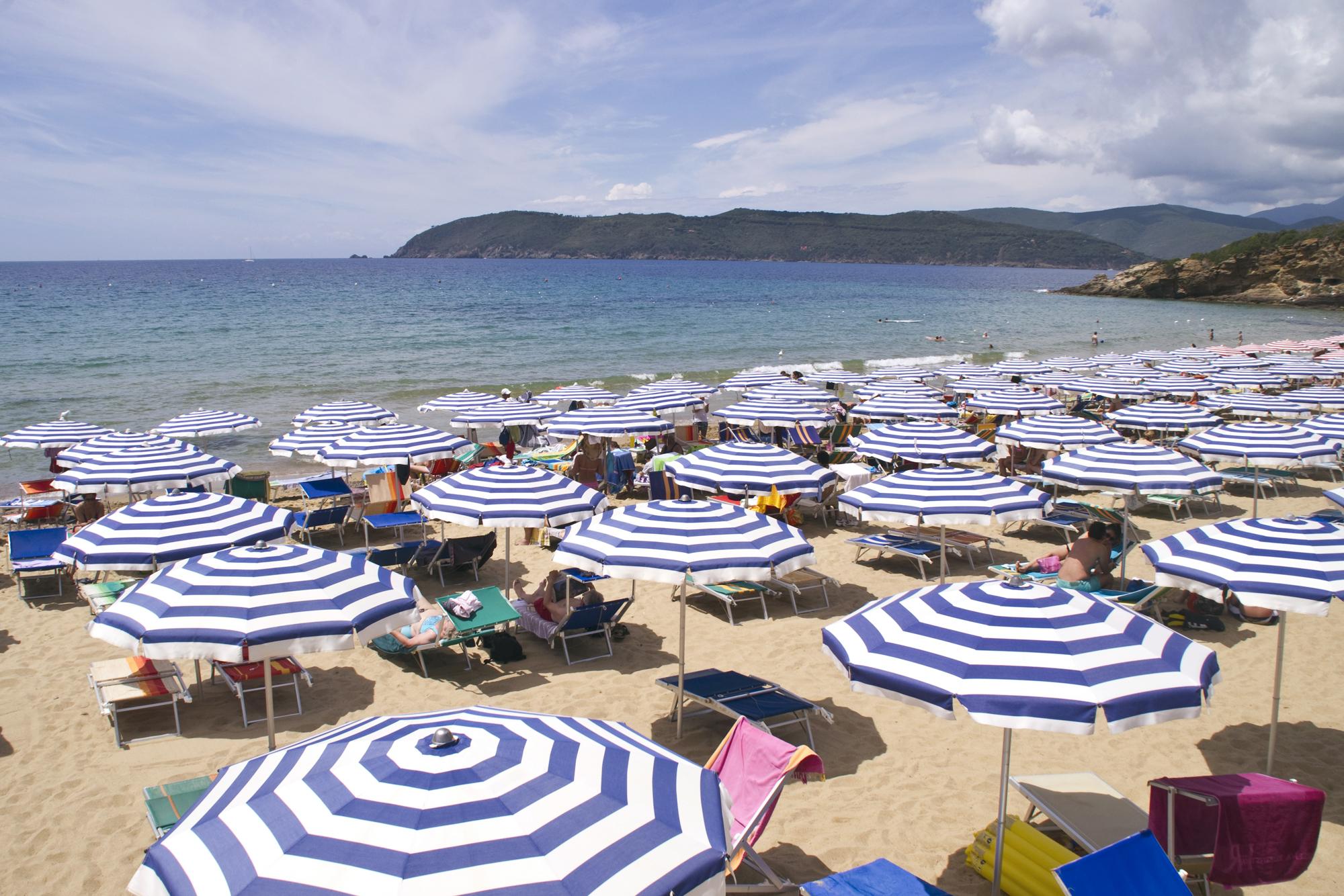 Spiaggia attrezzata del residence