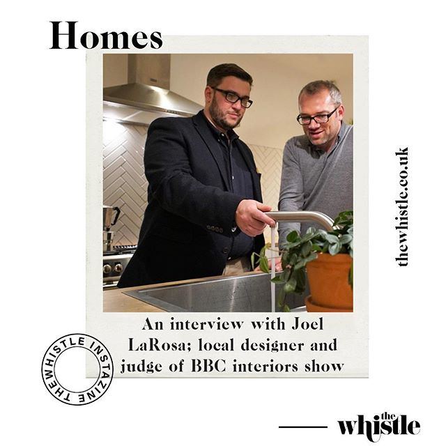 We caught up with local designer and BBC interiors judge @joellarosadesign about his time on new show 'The Best House in Town'. Swipe left to read it