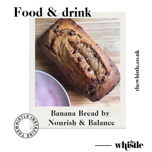 The latest recipe from @nourishandbalance1: a delicious banana bread which can be made vegan and gluten free. Swipe to see the full recipe and be sure to save it for later! 🍌🍞
