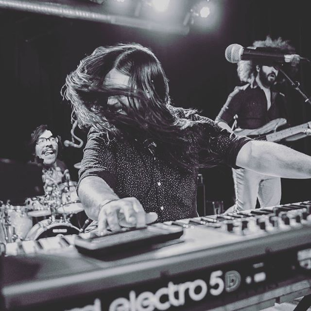 @paulyguay from @letsbeleonard is covering for @mateothinks tonight at @buffaloironworks as we open for @afterfunk! Catch Mateo's triumphant return from the HIGH seas on 4/20 at @putnam_place for our Reefer Madness-themed set! #reefer #madness #paulylaysdown