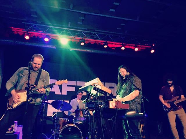 Thanks for the love last night Buffalo! And to @buffaloironworks and @afterfunk for showing us a good time. And major MVP thanks to @paulyguay for filling in for @mateothinks on drums 🥁! SARATOGA,  you're up next on 4/20 at @putnam_place !