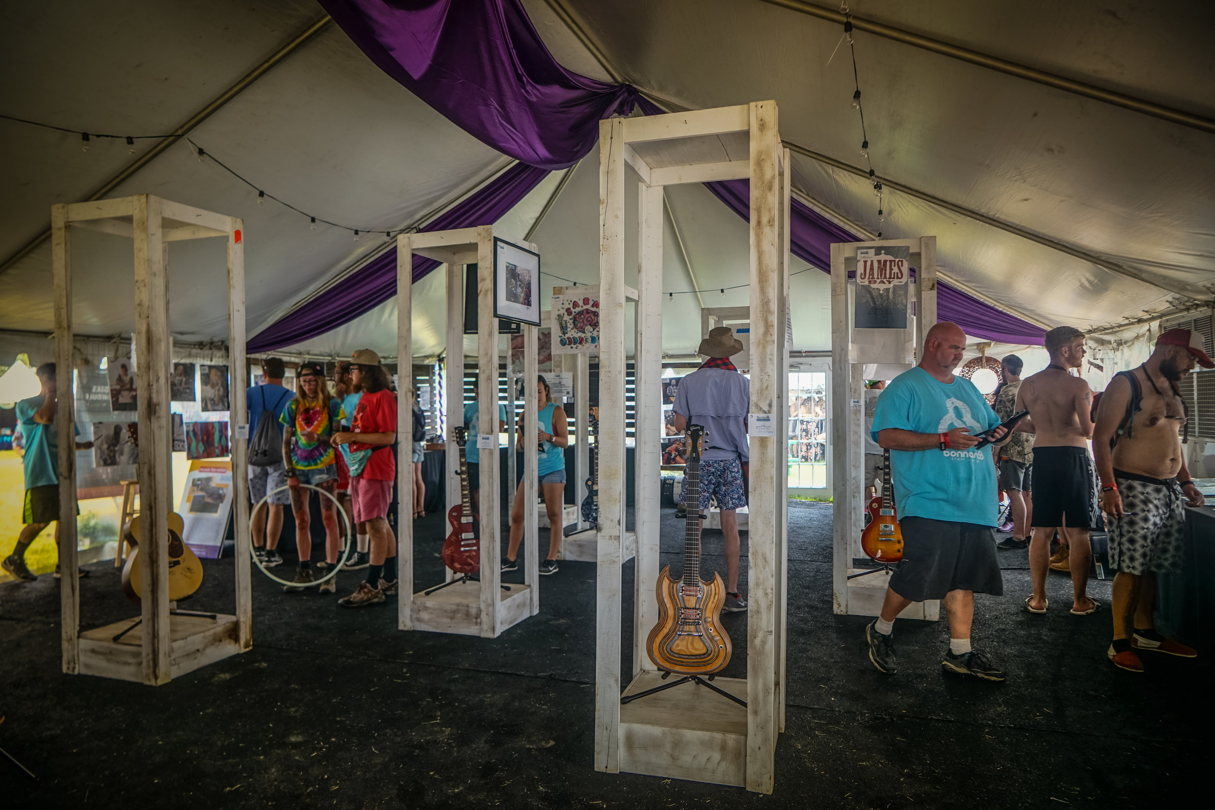 SILENT AUCTION @ THE ROO WORKS HQ - Bid on autographed items from past, present and future Bonnaroo performers. 100% of funds raised go toward nonprofits.