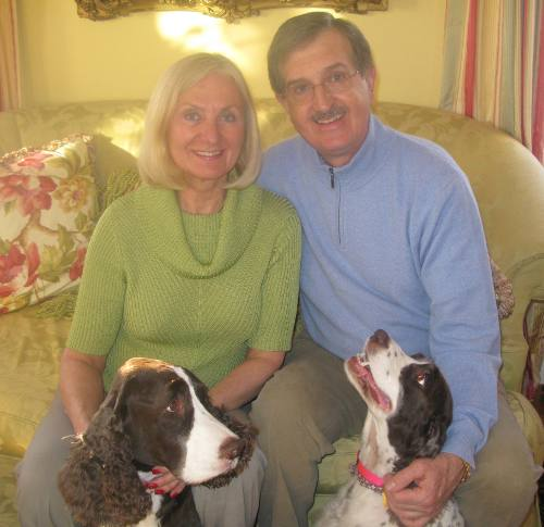 Councilor Vicki Danberg with her husband Dr. John Ficarelli.