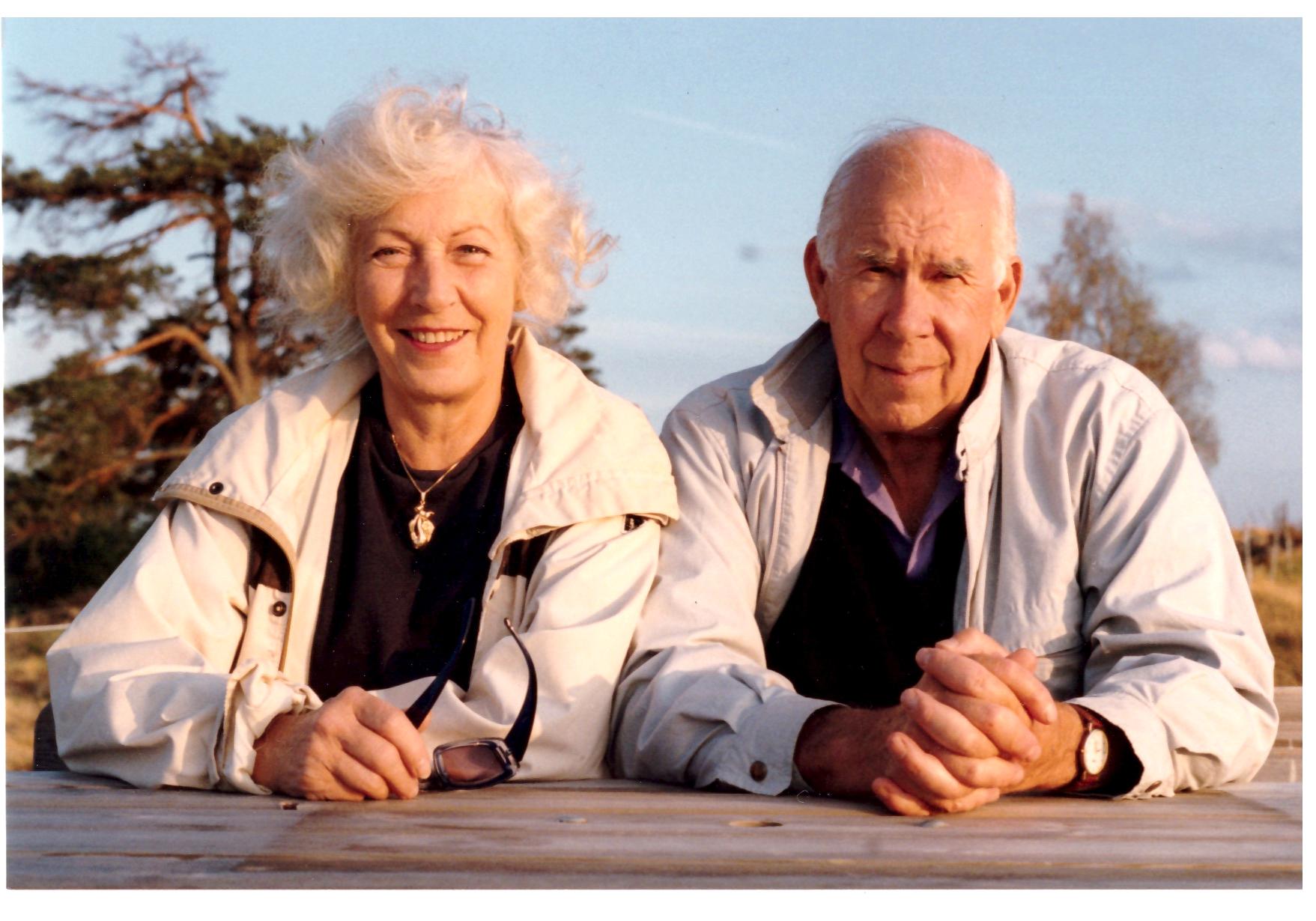 Anna & Ragnar Ström ca 1993