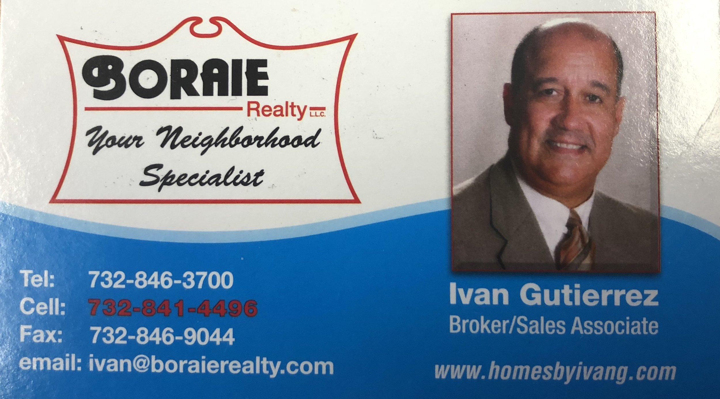 """Ivan Gutierrez - """"As a premier real estate agent in Central Jersey, I'm here to provide you with all the resources and information you need to buy or sell real estate. I work with buyers and sellers in Monmouth County, Mercer County, Somerset County and Middlesex County, and the surrounding areas and I've had extensive training in the latest real estate marketing strategies. I'm confident that I can offer you knowledge and tools most other agents can't""""."""