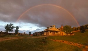 Winery Event building with Rainbow.jpg