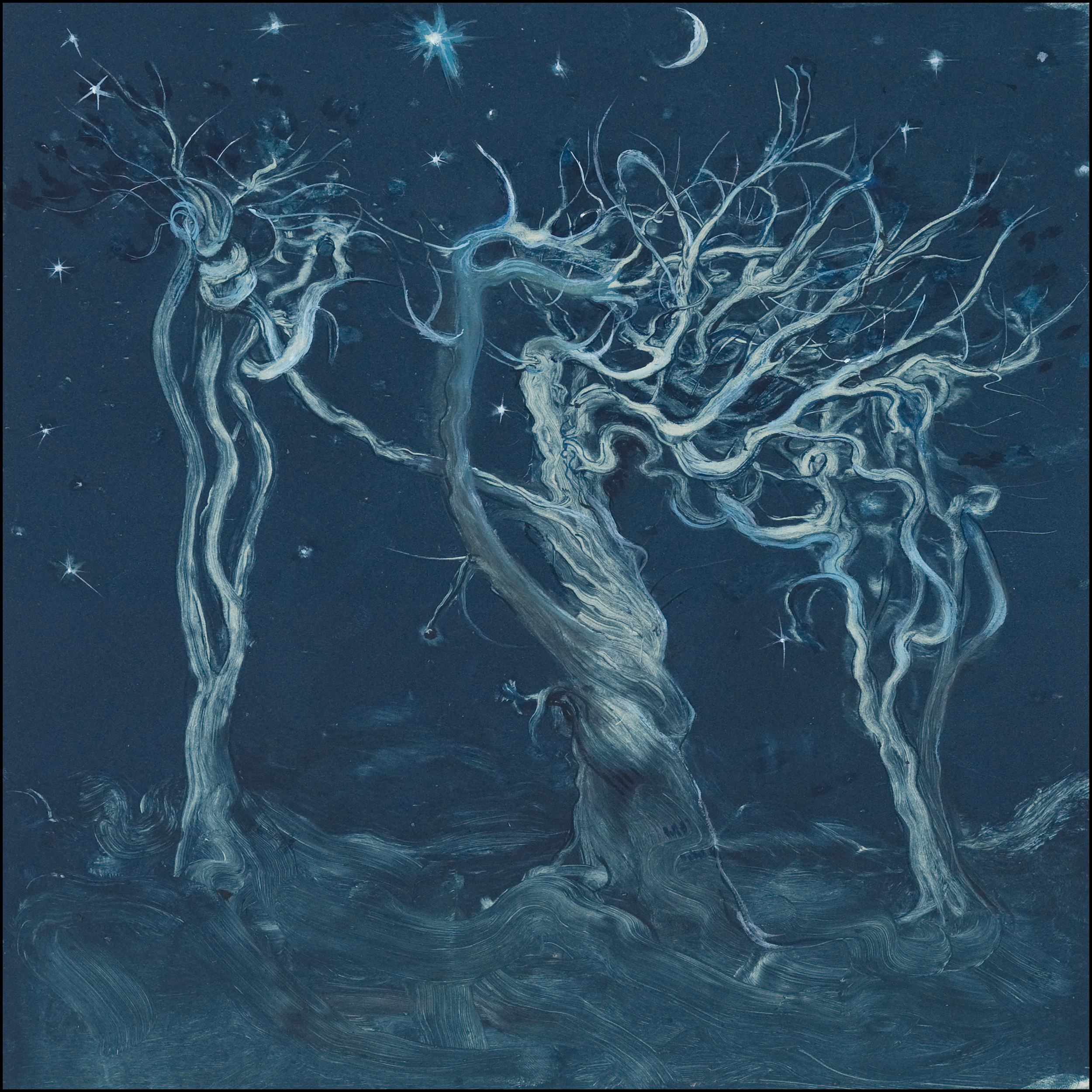 Album cover art painted by Inka Essenhigh (Ancient Trees, ©2010)