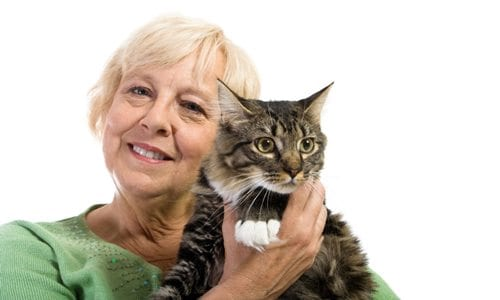 The Silver Whiskers Program - Free cat adoptions for qualified adopters over the age of 60 and cats over the age of 6!