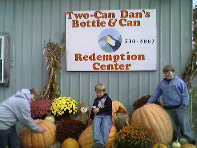 Two-Can Dan's Bottle & Can Redemption Center - For every recyclable can you drop in the HSYC Drop-off box at 1216 Route 14A, Penn Yan (HSYC's Shelter of Hope) or at Two-Can Dan's Bottle & Redemption Center at 137 Benham Street, Penn Yan, NY, HSYC receives 5 cents!