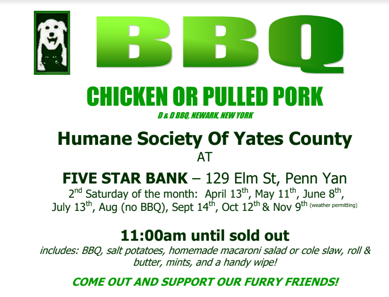 D&D Barbeque and Five Star Bank -