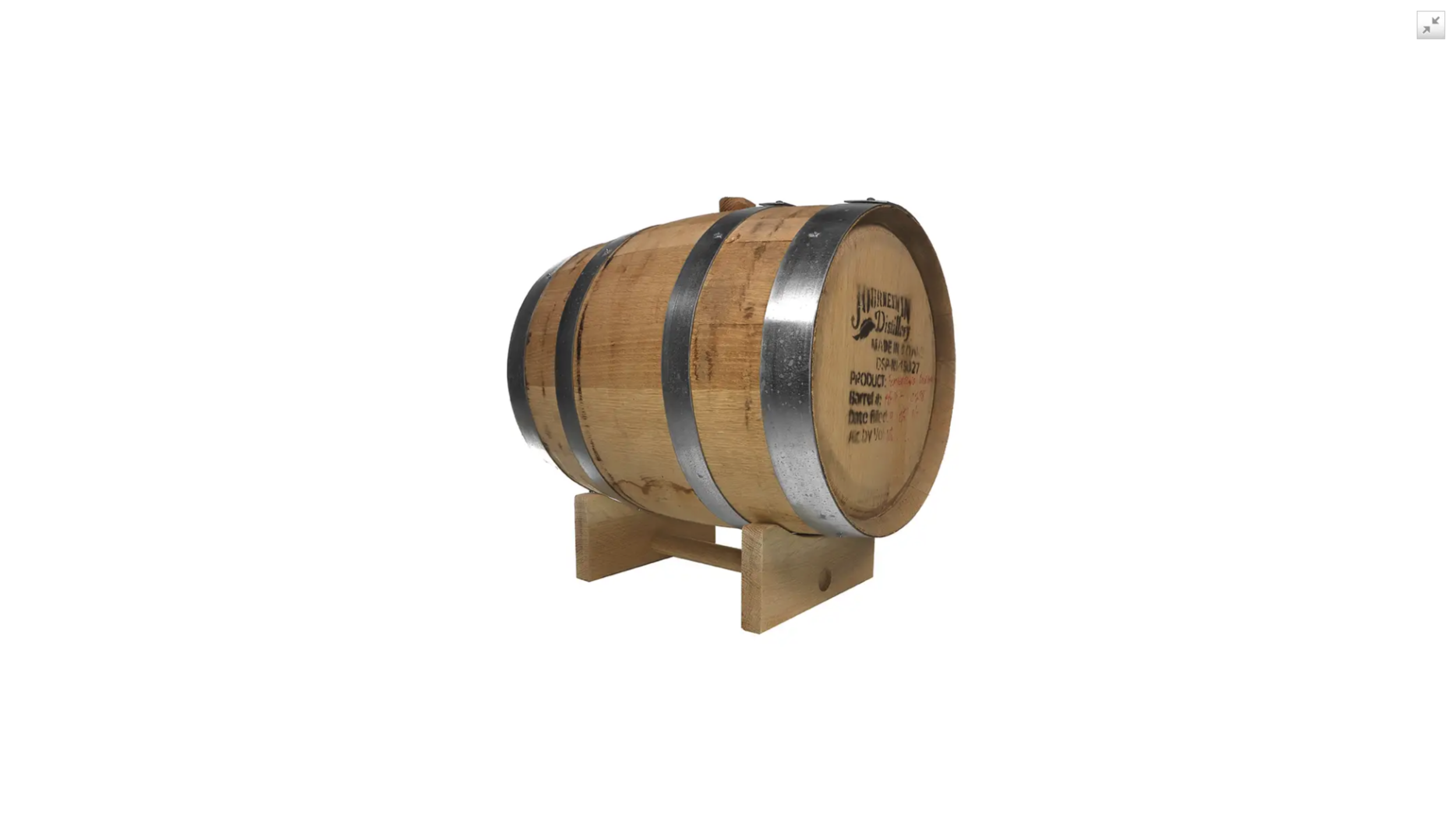 Antique Whiskey Barrel