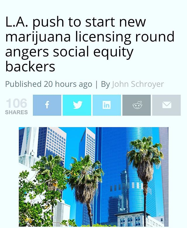 Maybe LA should get it's application to the state to get funds for the social equity program first...thoughts? - - https://mjbizdaily.com/l-a-push-to-start-new-marijuana-licensing-round-raises-ire-of-social-equity-backers/ - - #cannabis #cannabiscommunity #weed #weedstagram420 #weedstagram #420 #legalizeit #marijuan #californiacannabis #marijuanamovement #weedmemes #weedmaps #pot #marijuanagram #medicalmarijuana #mmj #mmjpatient #mmjlife