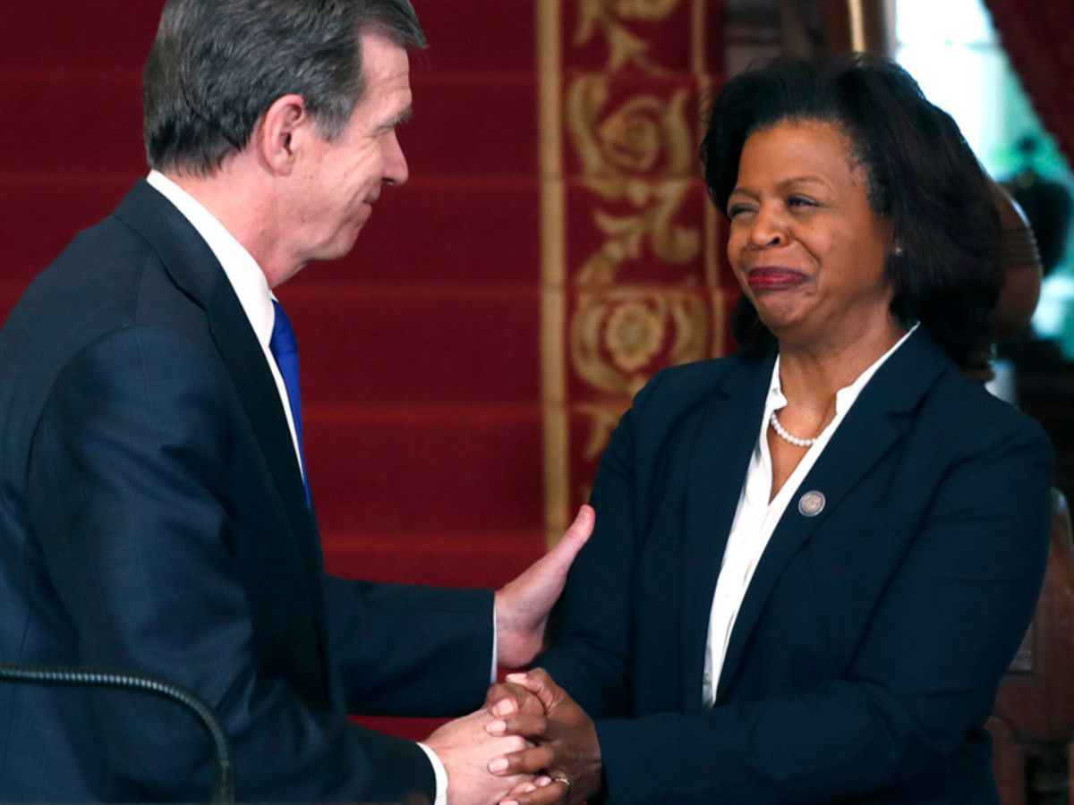 Judicial Update - Gov. Roy Cooper appoints Cherie Beasley to serve as Chief Justice of the North Carolina Supreme Court.