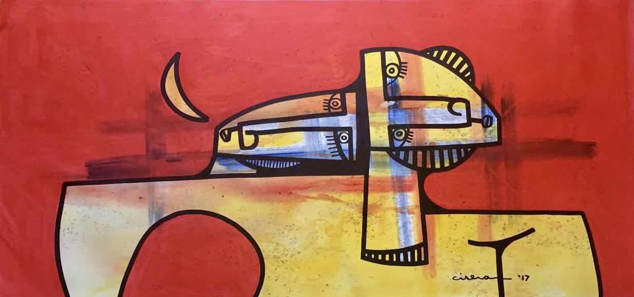 "Union - Oil on Canvas  30"" x 61"""