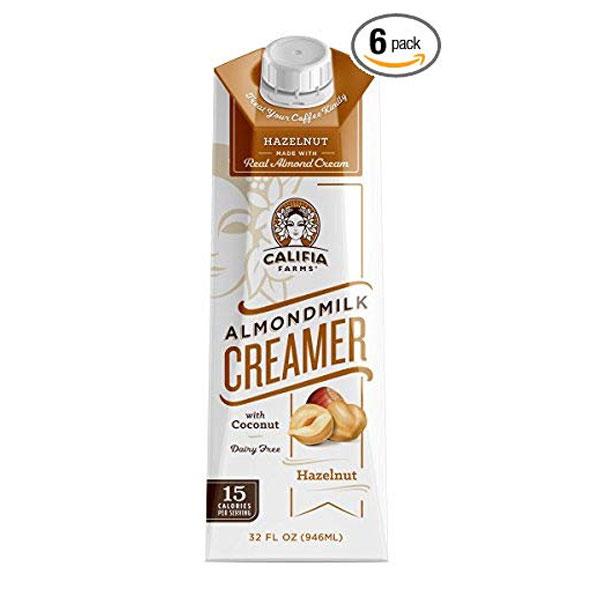 Califia Farms Hazelnut Almondmilk Creamer -
