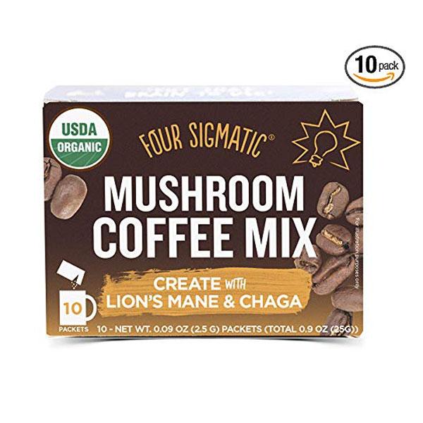 Four sigmatic Mushroom Coffee -