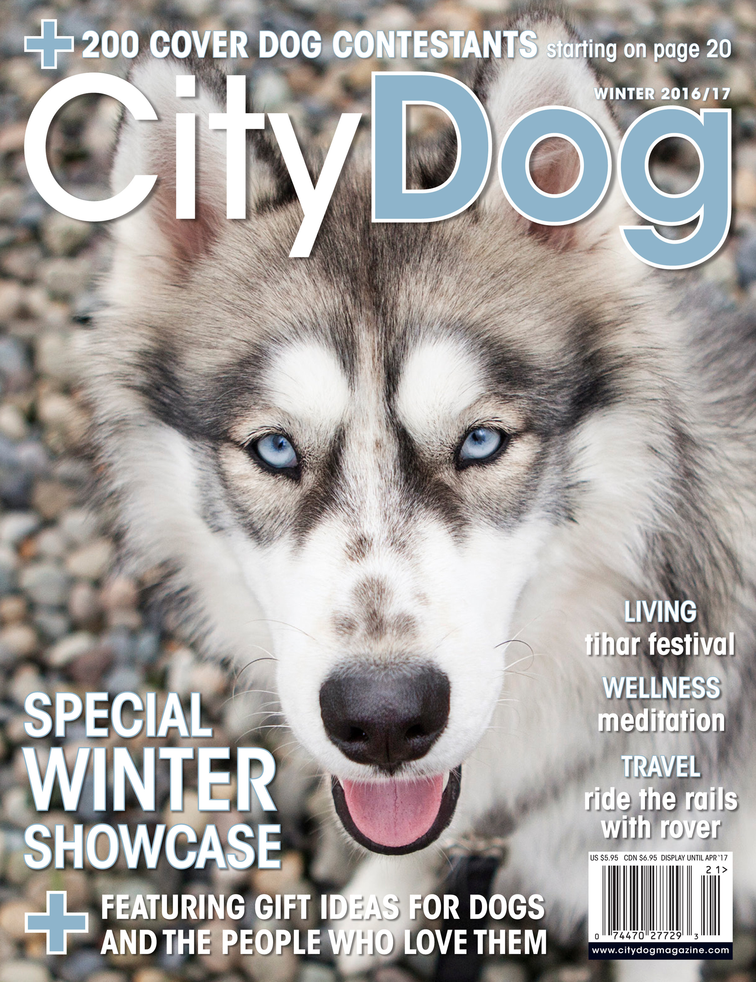 CityDog Magazine Holiday-Winter 2016 COVER.jpg