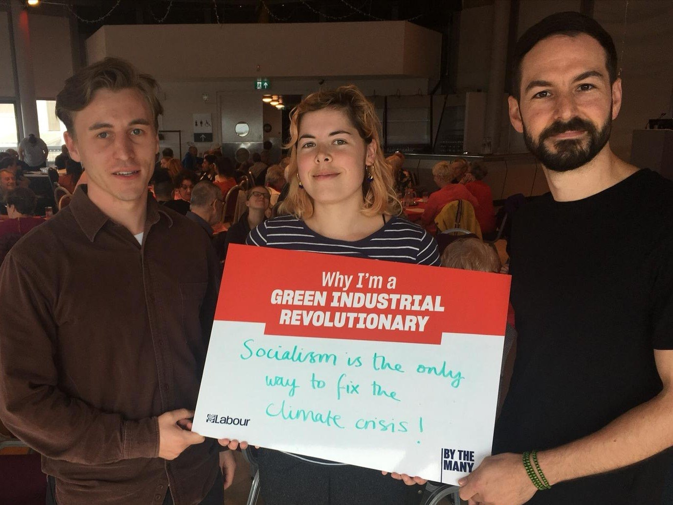 Labour's Green Industrial Revolution workshop in Salford