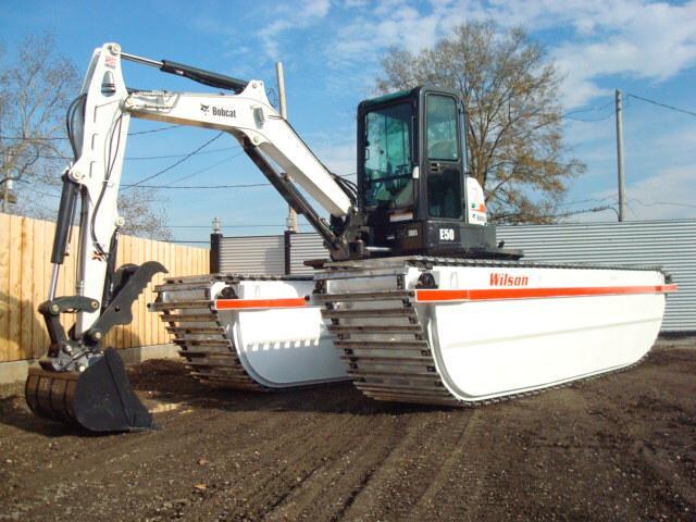Amphibious Excavator -