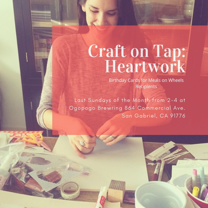 Monthly Card-Making for Meals on Wheels  with LA Earth Angels