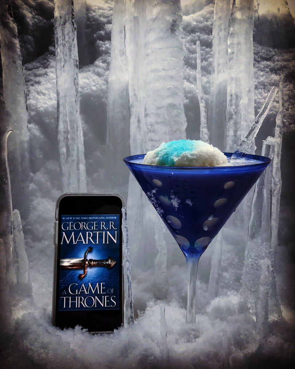"A ""White Walker,"" inspired by A Game of Thrones, by George R.R. Martin. The drink appears in Season 1, Episode 1 of Tipsy Nerds Book Club Podcast."