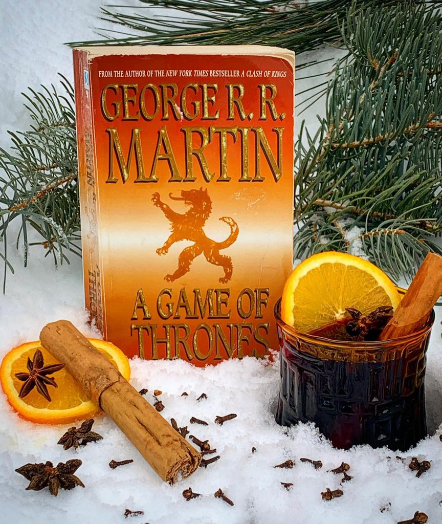 """Winter is Coming"" Mulled Wine, inspired by the men of the Night's Watch in A Game of Thrones, by George R.R. Martin. The drink appears in Season 1, Ep. 1 of Tipsy Nerds Book Club podcast."