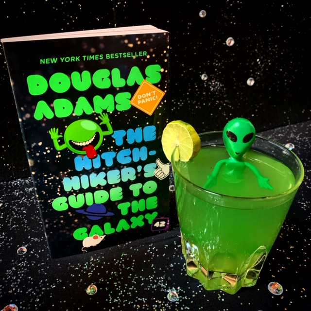 "The ""Pan-Galactic Gargle Blaster"" from the book Hitchhiker's Guide to the Galaxy, by Douglas Adams."