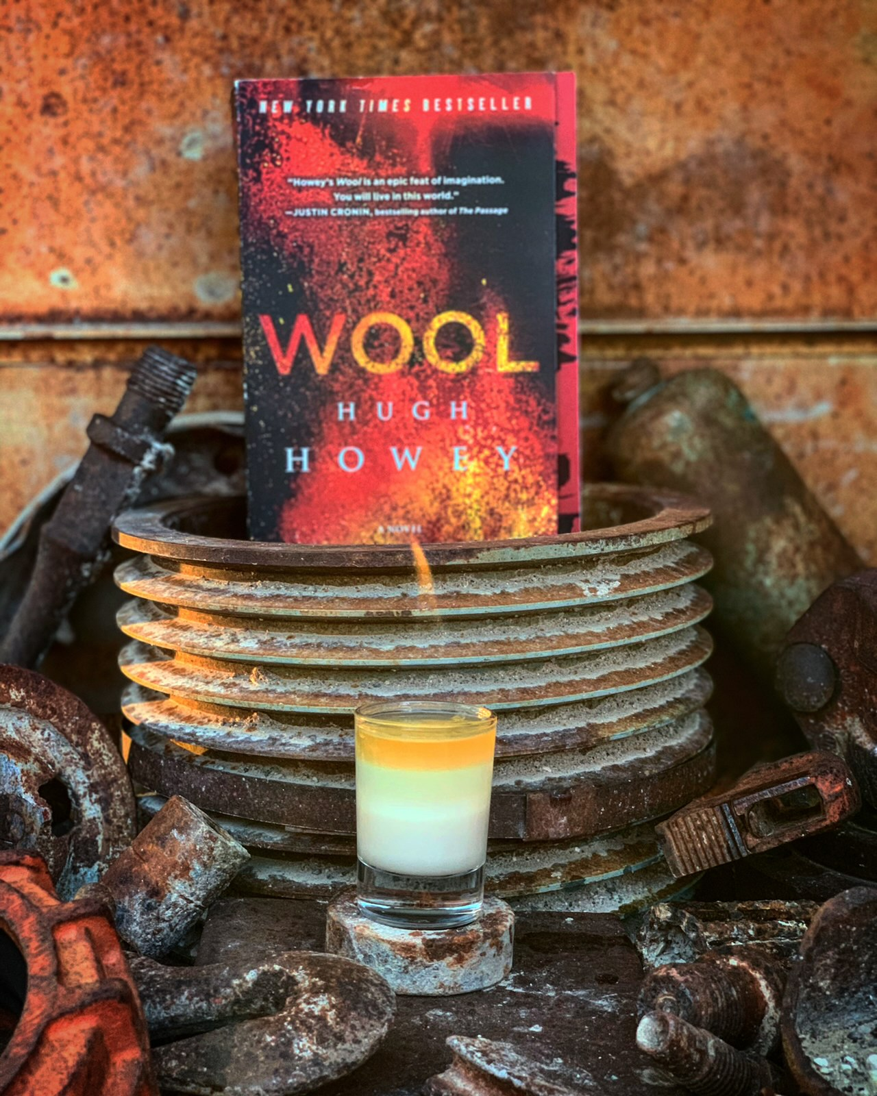 "The ""Silo 17 Shooter"" inspired by the book Wool, by Hugh Howey."
