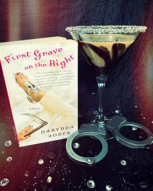 Coffee Martini inspired by  First Grave on the Right  by Darynda Jones