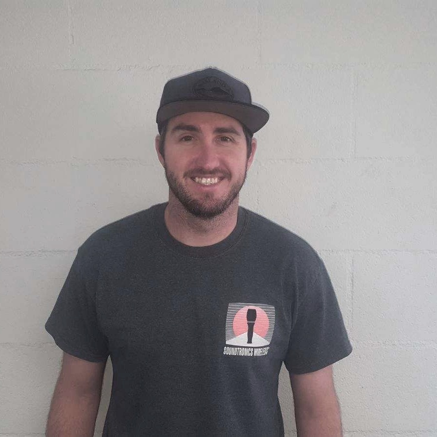 Corey Dodd - Lead Show Tech and Shop SupervisorCorey had worked for Soundtronics Wireless for twelve years and is the supervisor on shows and in the shop. He does everything from repairing equipment to managing the warehouse day to day and managing shows on site.corey@soundtronics.com