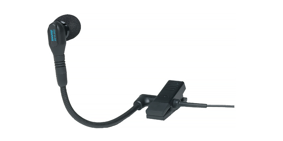 Instrument Mics - For instrument mics, we carry the Shure 98 H/C and the DPA 4099. As well as an assortment of adapters.