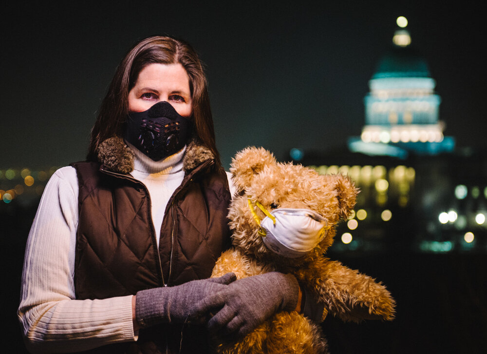 Cherise Udell in Salt lake City with Utah Moms for Clean Air.jpg
