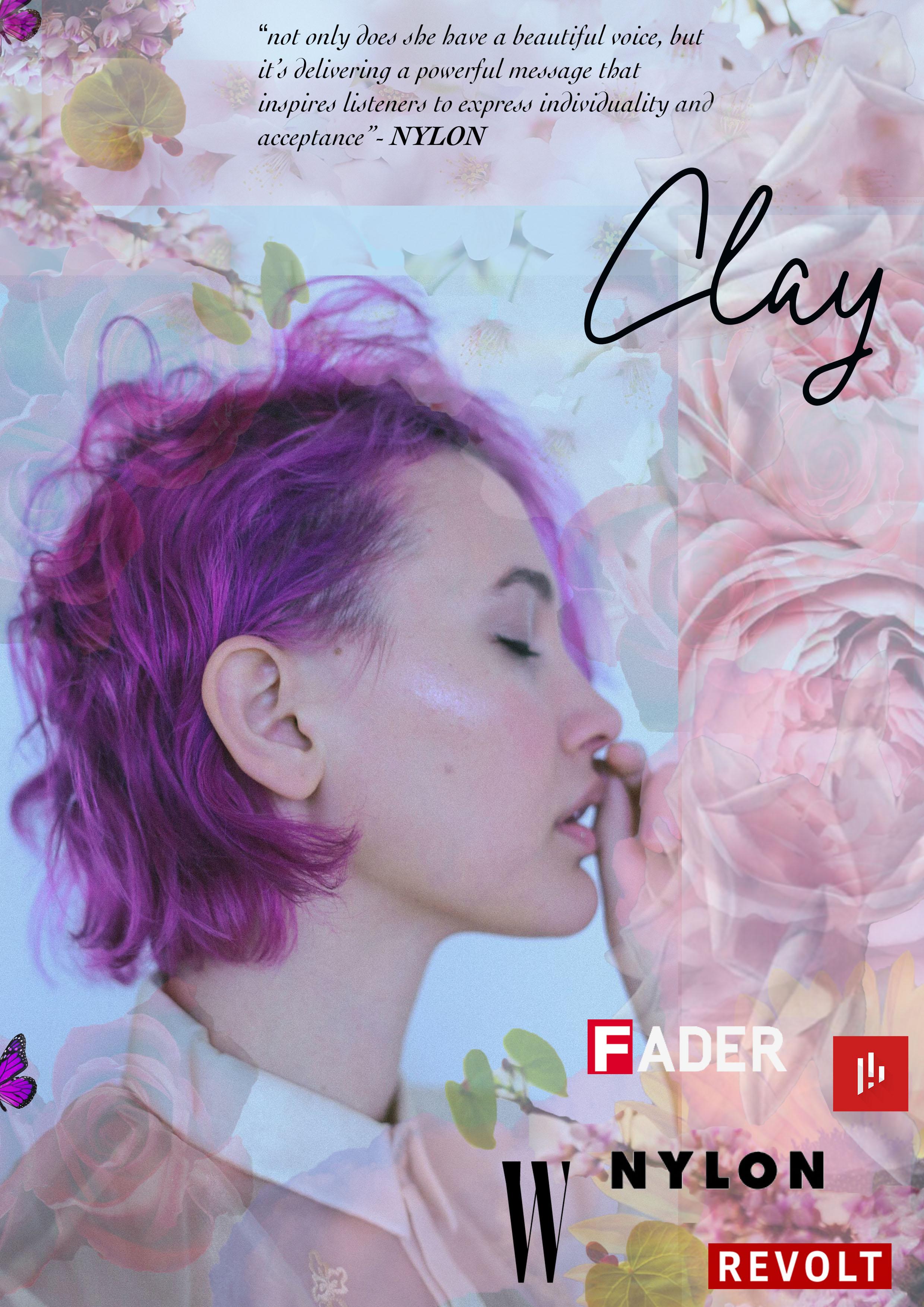 Clay, 2018, press-kit, digital