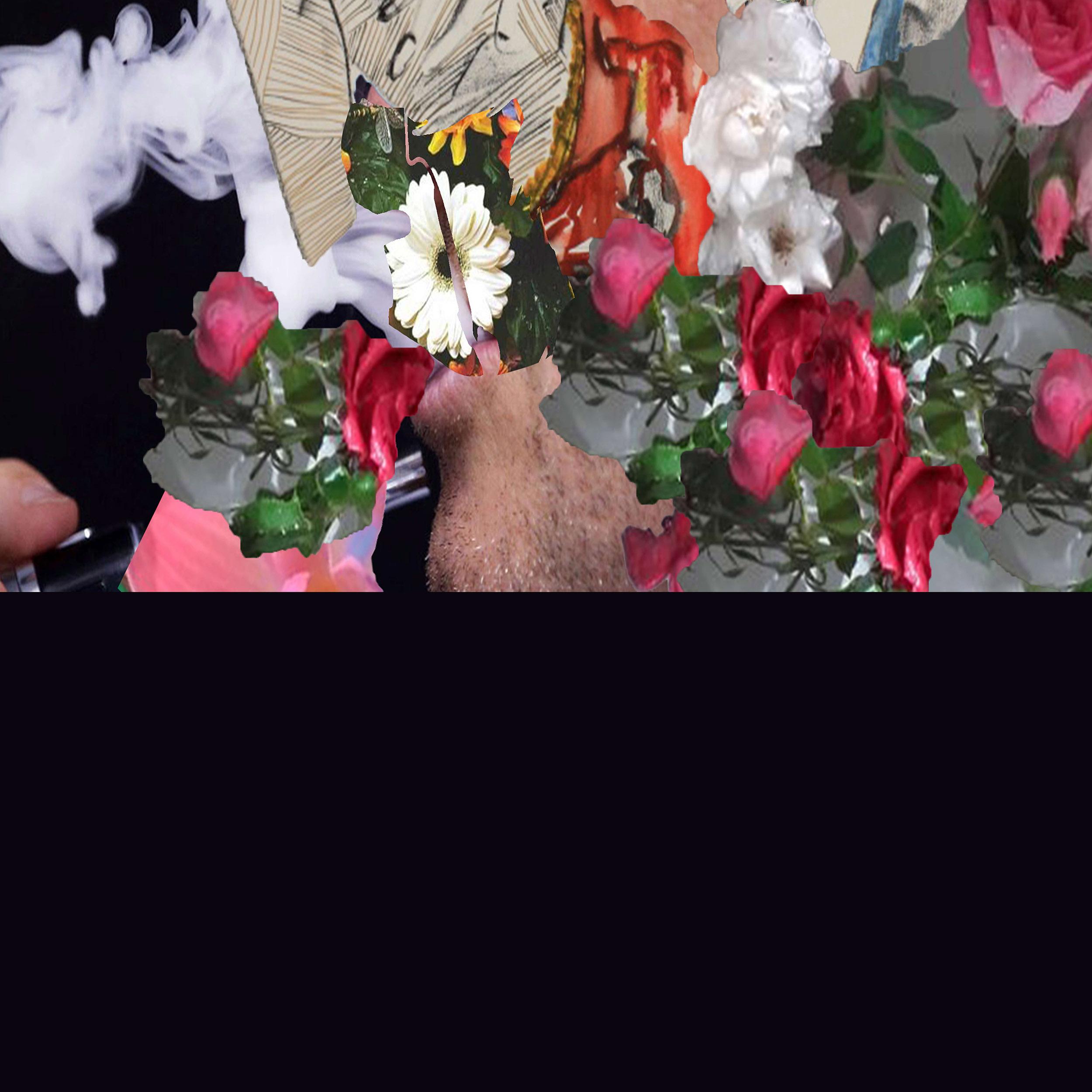 Smoking & kissing, 2017, mixed media, digital
