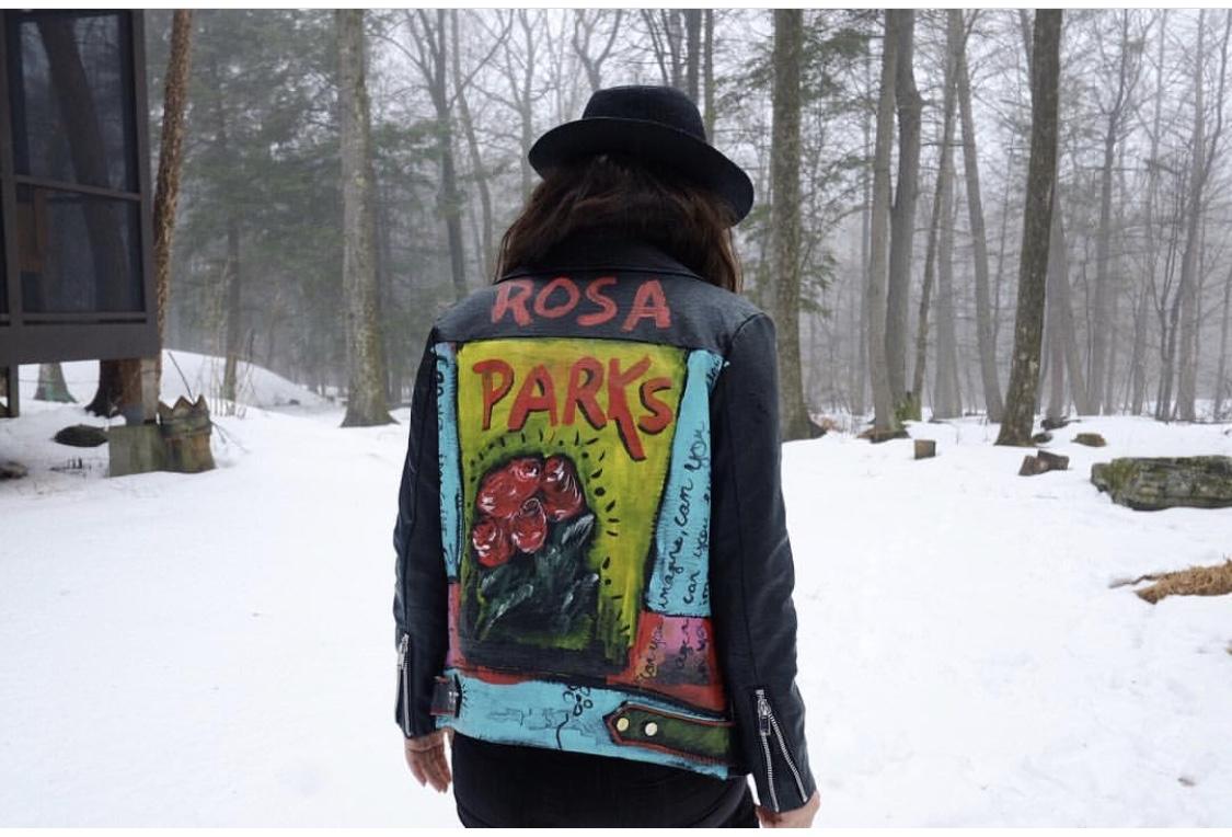 """Rosa Parks"", Shot by Maria Valdes"