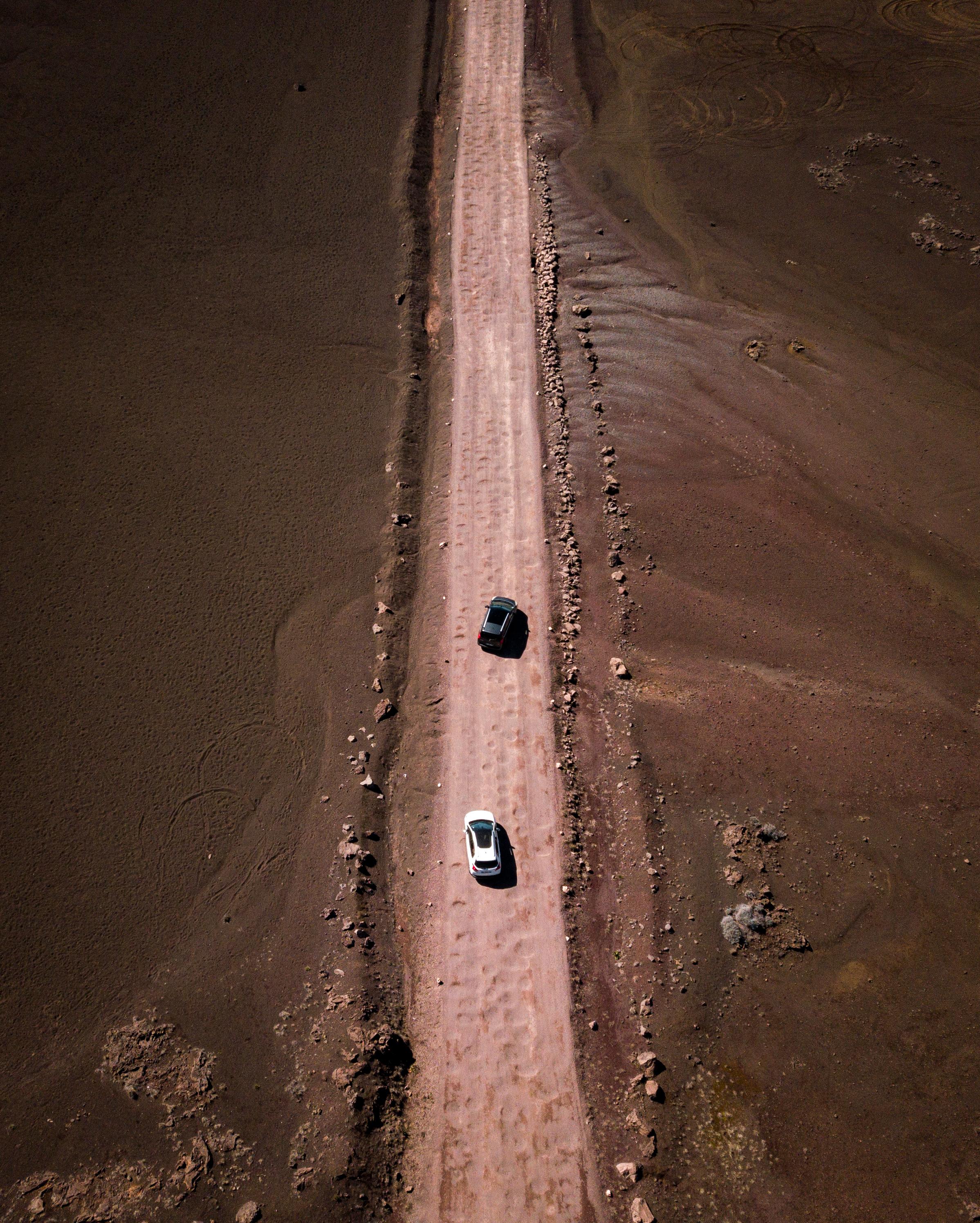 La piste de la Plaine des Sables