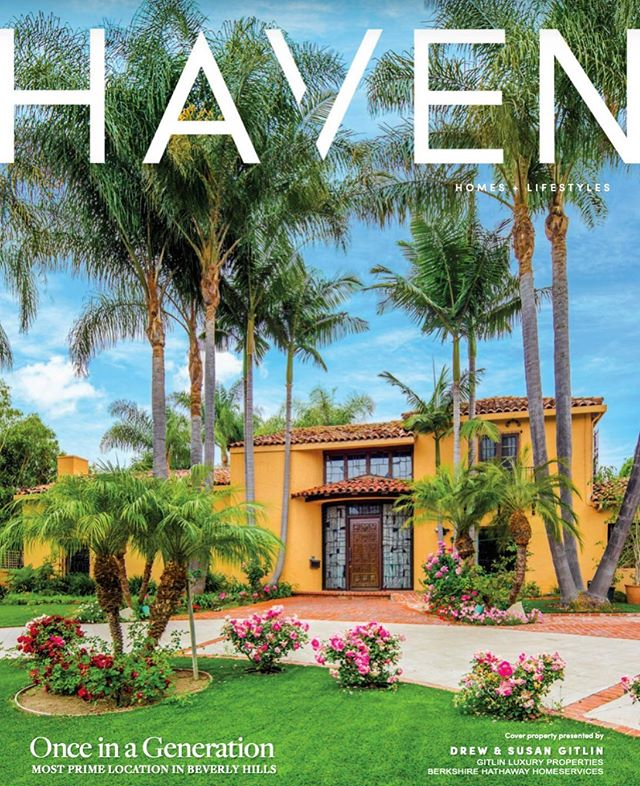 ONCE IN A GENERATION _  We are ecstatic to see our spectacular listing on the October 2019 cover of @havenlistings Magazine! If you are interested in seeing the property for yourself, call us or visit our website. 1011 N Roxbury Drive | Beverly Hills 33,250 SQFT | $19,500,000 _  #GitlinLuxuryProperties #RepresentedByTheGitlins #BHHSCalifornia| DRE 00944472  #luxuryrealestate #luxury #realestate #losangeles #beverlyhills #luxurylistings #architecture #design #interiordesign #beautiful #home #lifestyle