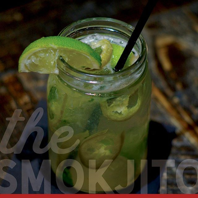 You know what goes great with Taco Tuesdays? Our Smokjito, a spicy twist on the classic mojito! Stop in and try it or any of our other specialty cocktails.