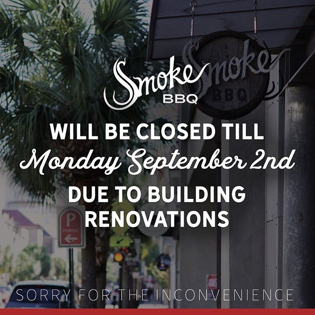 Sorry for any inconvenience to our customers unfortunately we will be closed until Labor Day. We will update y'all if we can open sooner.