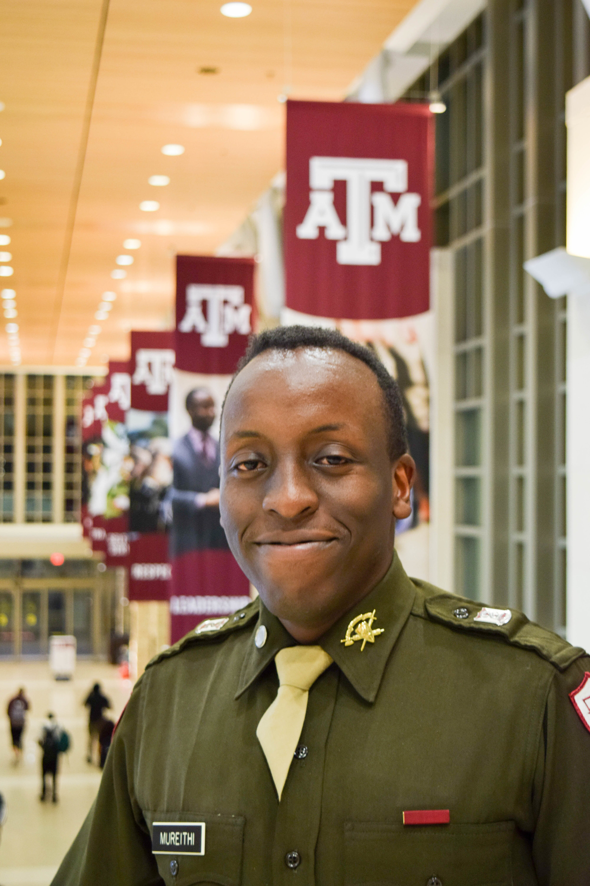 Henry Mureithi was in I-1 during his time in the Corps of Cadets.   Provided.