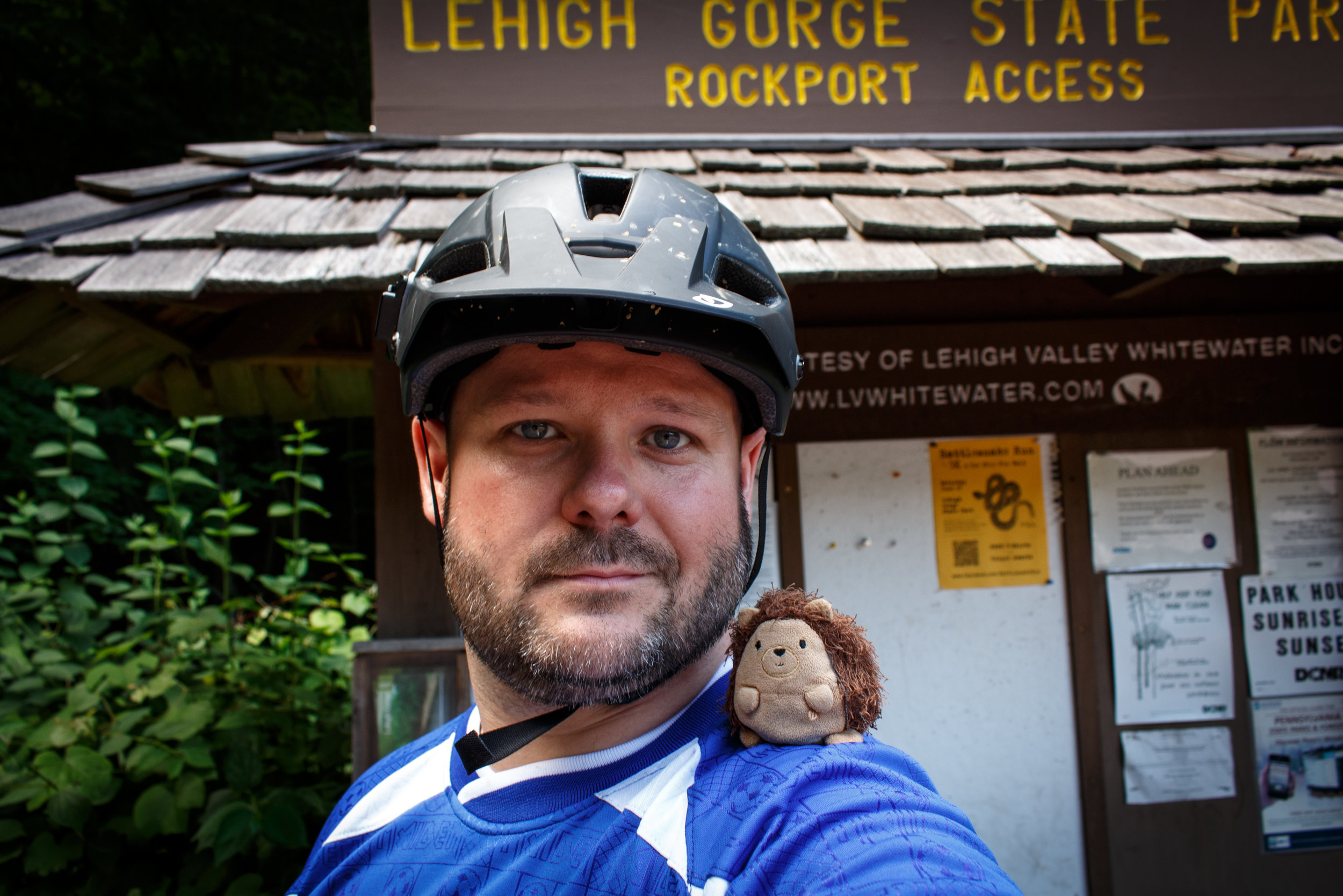 Mountain Biking Lower Gorge Trail (06/24/2013)