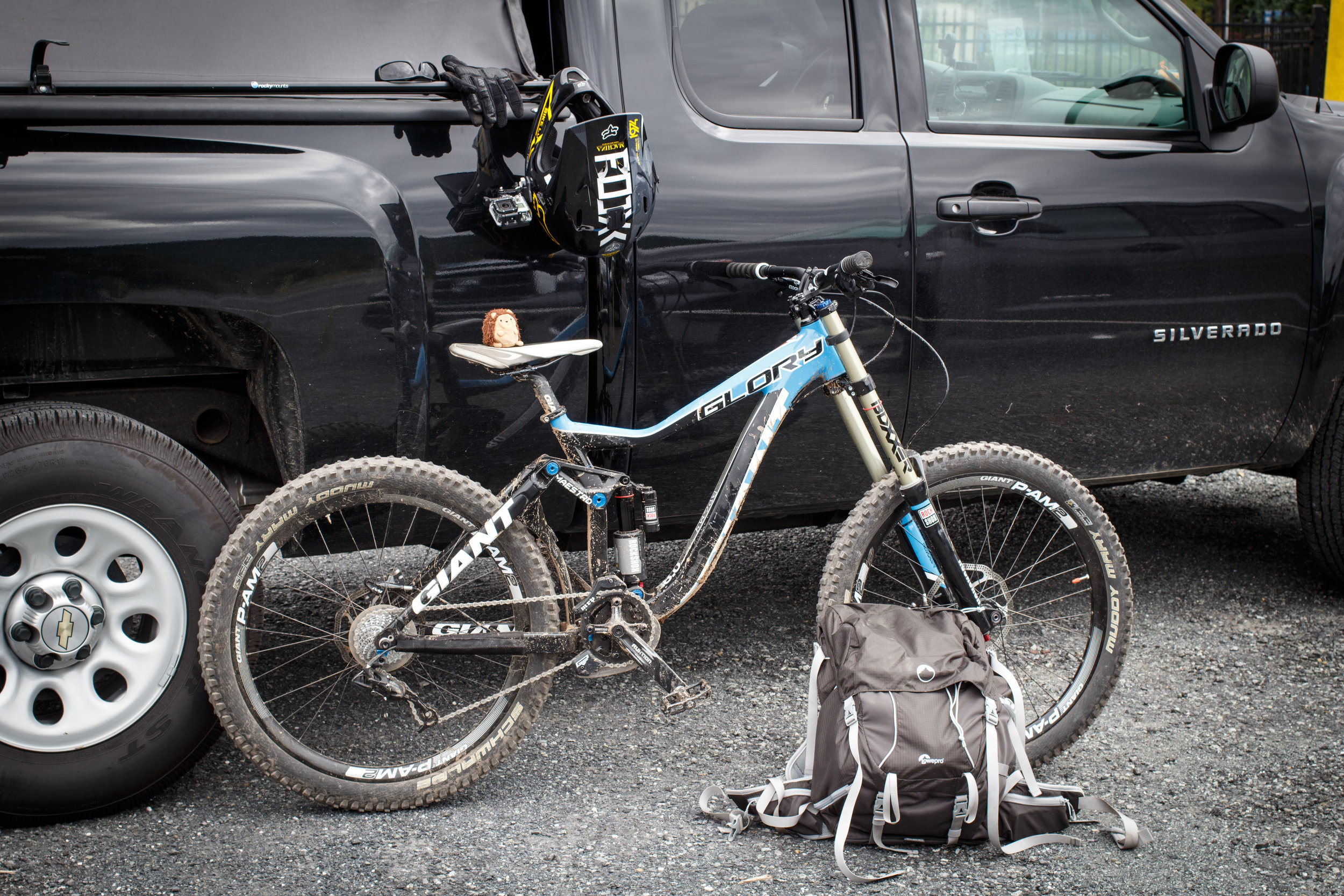 Rake & Ride at Blue Mountain Bike Park (09/14/2013)