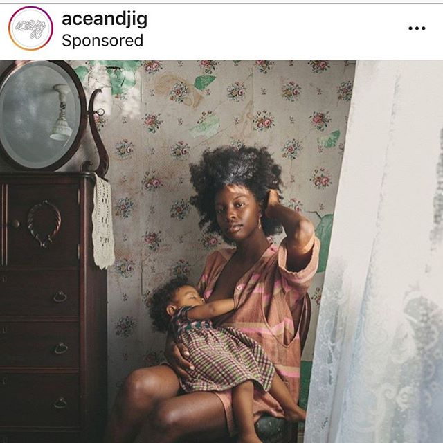 High five to ace&jig for this gorgeous ad for their clothing. Thank you for knowing that your customers would love this stunning image. BTW this is not a maternity clothing line! Also, the clothing is size diverse! #bodypositive #parentingisbeautiful