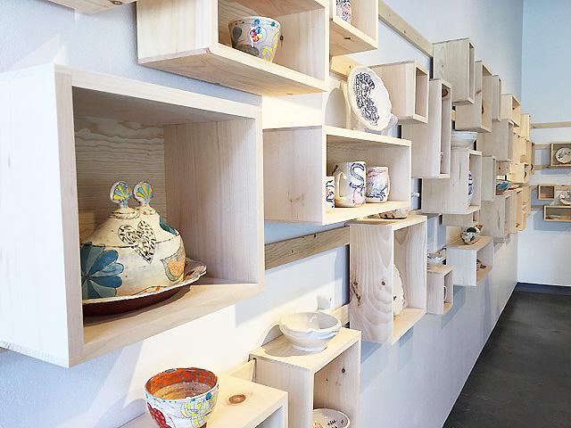 - ceramics pop-up shop