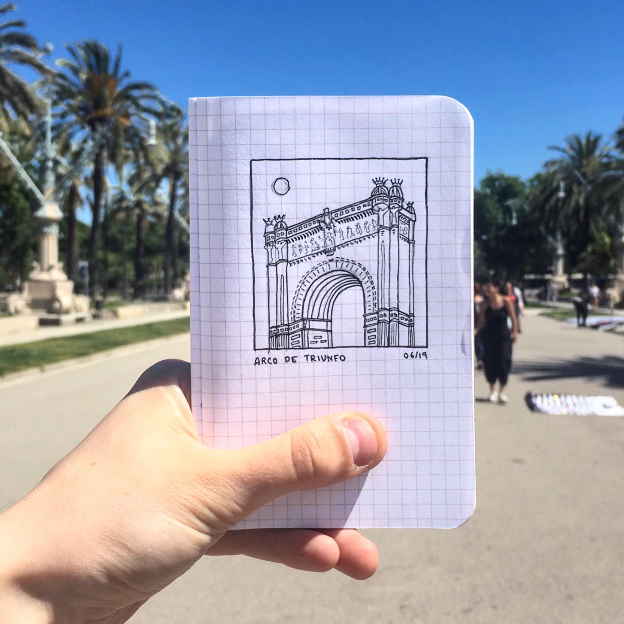 La Arco De Truinfo, Barcelona